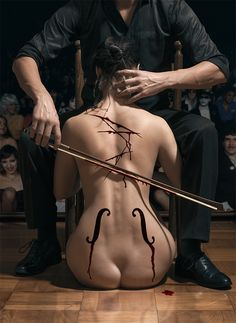 He played a note so beautiful... One that I had never heard before, allured into its darkness I was consumed.