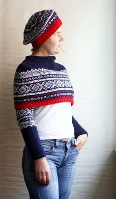 Items similar to Norwegian Red White and Blue Tam - PDF Knitting Pattern on Etsy Men Looks, Classic Looks, Dressmaking, One Size Fits All, Going Out, Knit Crochet, Knitting Patterns, Red And White, Winter Hats