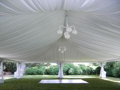 Tent liners and other add-ons will give your party character--for a & Choosing the tent all comes down to a matter of size selection ...