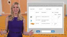 How to Use the Schluter®-DITRA-HEAT Online Calculator #americanfastfloors #schluter