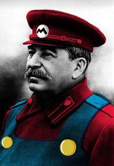 Mario Bros Staline