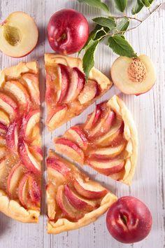 Peach, Fruit, Cake, Food, Basket, Kuchen, Essen, Peaches, Meals