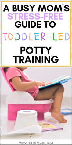 A busy mom& stress-free guide to toddler-led potty training Potty Training Pants, Toddler Potty Training, Training Tips, Potty Training Rewards, Training Equipment, Strength Training, Parenting Toddlers, Parenting Hacks, Toilet Training