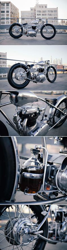 BSA A50 by Hazan Motorworks