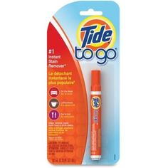 Best of all, Tide to Go travels easily to stop stains on the spot. Keep a Tide to Go in your briefcase, car, purse and kitchen -- everywhere you encounter stains. Tide to go Instant Stain Remover, 1 count. House Cleaning Tips, Deep Cleaning, Cleaning Hacks, Cleaning Schedules, Car Cleaning, Cleaning Products, Home Design, Halo, Procter And Gamble