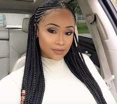 Nice braids @infamous__aicha - https://blackhairinformation.com/hairstyle-gallery/nice-braids-infamous__aicha/