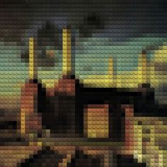 LEGO ALBUMS – Famous album covers recreated with LEGO
