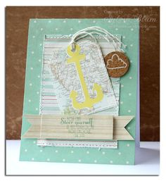 """card by Sylvia Blum (sylviastamps.blogspot.com);  using a sentiment from Whimsy Stamps """"Guiding Light"""" stamp set (designed by Raindrop Echo Designs)"""
