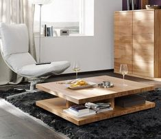 Solid Wood Coffee Tables : Beautiful And Functional Coffee Tables