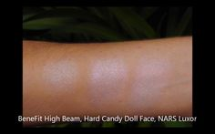Benefit High Beam - Hard Candy Doll Face - NARS Luxor