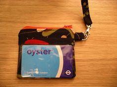 Tutorial cerniere: borsina con tasca trasparente e loop in tessuto