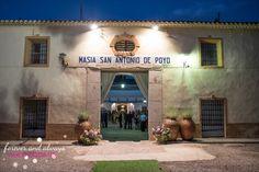 Entrada principal Masía de San antonio de Poyo