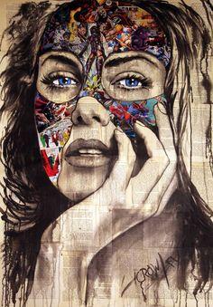 """Saatchi Art Artist darren crowley; Drawing, """"A defensive layer"""" #art"""