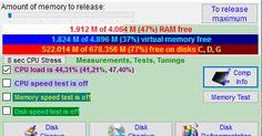 Παρακολουθήστε την ελεύθερη και συνολική μνήμη RAM απελευθερώστε το ανώτατο ποσό της μνήμης RAM παρακολουθήστε την ελεύθερη και συνολική εικονική μνήμη. Επίσης κάντε εκκαθάριση από τις άχρηστες καταχωρήσεις στο σκληρό σας δίσκο δείτε λεπτομερείς πληροφορίες για τον υπολογιστή σας παρακολουθήστε την ταχύτητα εγγραφής και ανάγνωσης μνήμης τσεκάρετε την ακεραιότητα της μνήμης κάντε ανασυγκρότηση δίσκων και τεστάρετε αλλά μετρήστε τις επιδόσεις της μνήμης σας.  Author's Website: ΛΕΙΤΟΥΡΓΙΚΟ…