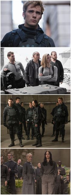 New Stills from Mockingjay - Part 2 Mais Hunger Games Mockingjay Movie, Mockingjay Part 2, Hunger Games Catching Fire, Hunger Games Trilogy, Avicii, Hunter Games, I Volunteer As Tribute, Mocking Jay, Sam Claflin