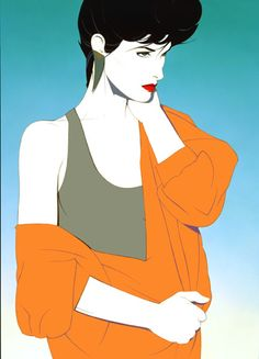 patrick nagel does something that no other artist does
