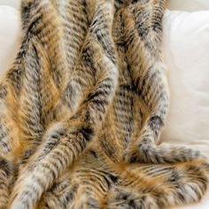 Lemur Faux Fur Throw | Indeed Decor