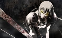 claymore anime epic wallpaper 1920x1200