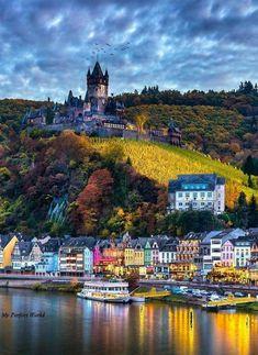 Cochem Mosel River Germany