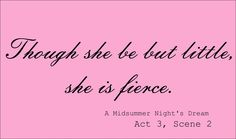 Though she may be petite, she is fierce - Gabriella A 5/524/13 @Natalie Armijo-Eddy This will hang in my room.