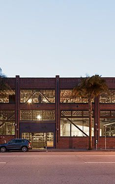 Inside Pinterest's Beautifully Spare New Headquarters , Pinterest's office is housed in a renovated brick warehouse on 7th. st.