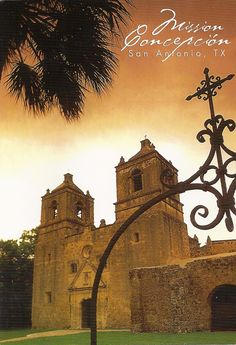Mission Concepcion - where we were married.