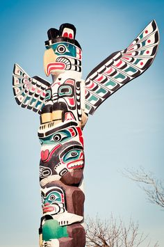 Where ever this totem pole is, take me there.
