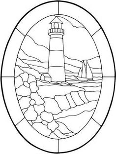 coloring pages of lighthouses - yahoo Image Search Results