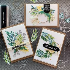 Stampin Up Karten, Karten Diy, Hand Made Greeting Cards, Making Greeting Cards, Paper Cards, Diy Cards, Spellbinders Cards, Stampin Up Catalog, Stamping Up Cards