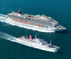 Nick's Cruise Corner: Carnival Cruise Line's First Cruise Ship The Mardi Gras