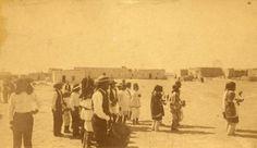 Harvest Dance at Isleta Pueblo – 1891