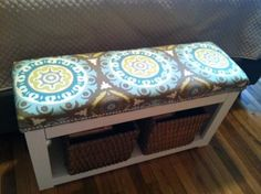 DIY Furniture / DIY Spa bench - with upholstered top - CotCozy