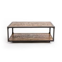 Emerald Home Furnishings Chandler Reclaimed Wood Cocktail Table On SALE