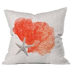 Coral Sea Collection 4 Indoor/Outdoor Pillow