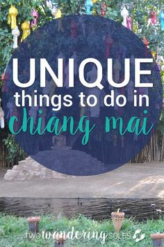 Getting massaged by a prison inmate and chatting with monks don't typically make the list of things to do while on vacation... but they were on ours! Check out some more of the unique things we did while in Chiang Mai, Thailand!