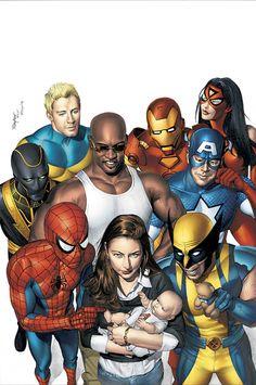 Jessica Jones & The New Avengers - Mike Mayhew