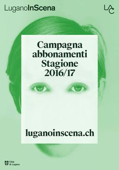 Lugano In Scena – Poster on Behance