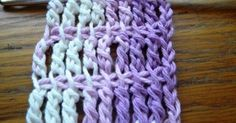 Basic Tunisian Crochet rules apply to this pattern. You will be making a foundation chain, casting on loops and then casting them off yo...
