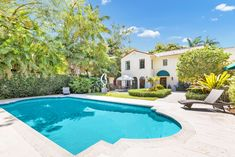 Casement Windows, Arched Windows, Magical Home, Glass Shower Enclosures, Electric Gates, Travertine Floors, Stucco Walls, Privacy Walls, Coconut Grove