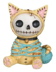 Furry Bones - Kitty - Figurine - 7601