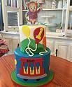Daniel Tiger's Neighborhood themed birthday cake #peridotsweets