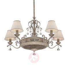 Pompous ceiling fan Samira with ioniser-Pendant Lighting-8532220-30