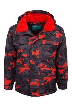 Mountain Warehouse Arrow Kids Snow Jacket Orange 3-4 years