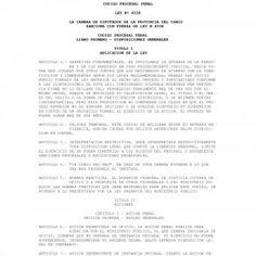 IEP [WWW.IESTUDIOSPENALES.COM.AR] CODIGO PROCESAL PENAL LEY Nº 4538 LA CAMARA DE DIPUTADOS DE LA PROVINCIA DEL CHACO SANCIONA CON FUERZA DE LEY N.4538 CODIG. http://slidehot.com/resources/codigo-procesal-penal-de-chaco-www-iestudiospenales-com-ar.19372/