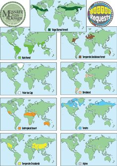 Biomes Of North America ThingLink One World Pinterest - Biome map of us