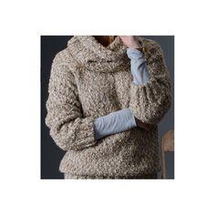Sweter z dużym golfem - Czas zamotać