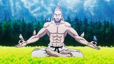"jaxblade: "" Netero's TRAINING Routine 
