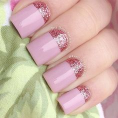 Acrylic nails art de