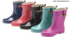Super cute rain boots and they are comfortable. Gotta love that! Puddletons Rain Boots - http://50campfires.com/ranger-puddletons-rain-boots-are-cute-and-effective/ #boots #camping #rainboots #cuteboots