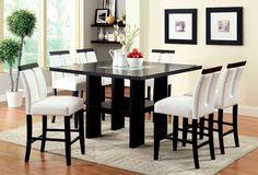 Luminar II 5 Pcs Counter Ht. Table Dining Set CM3559PT